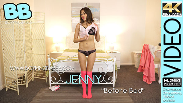 """Jenny """"Before Bed"""""""