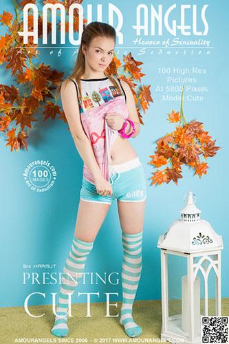"""Cute """"Presenting"""""""