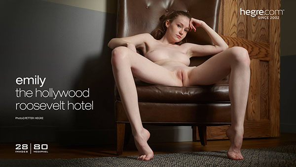 "Emily Bloom ""The Hollywood Roosevelt Hotel"""