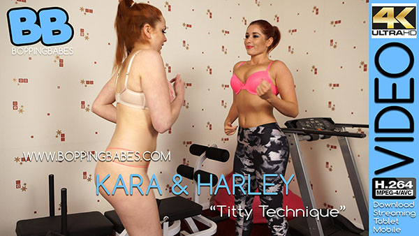 "Kara Carter & Harley G ""Titty Technique"""
