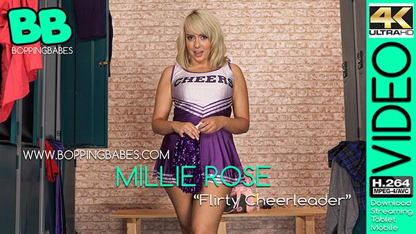 "Millie Rose ""Flirty Cheerleader"""