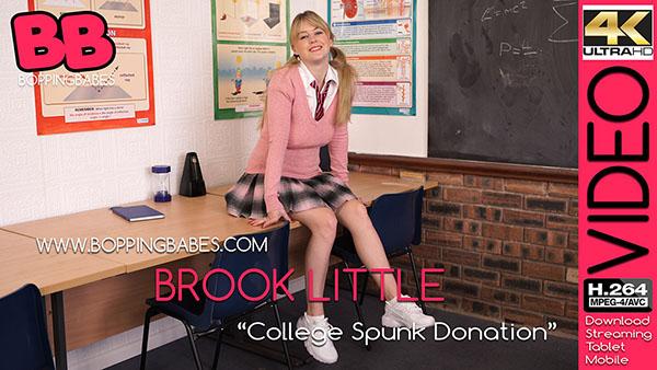 "Brook Little ""College Spunk Donation"""