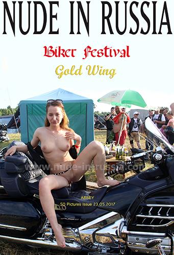 """Abbey """"Biker Festival Gold Wing"""""""