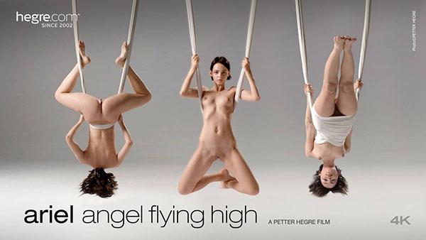 """Ariel """"Angel Flying High"""""""