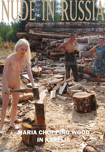 "Maria ""Chopping Wood In Karelia"""