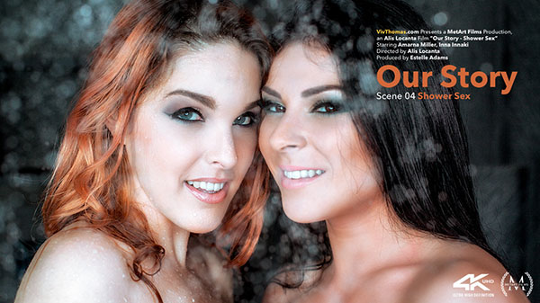 "Amarna Miller & Inna Innaki ""Shower Sex"""