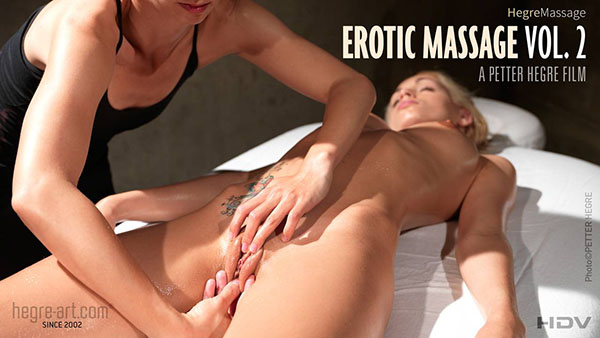 "Erica F ""Erotic Massage. Vol. 2"""
