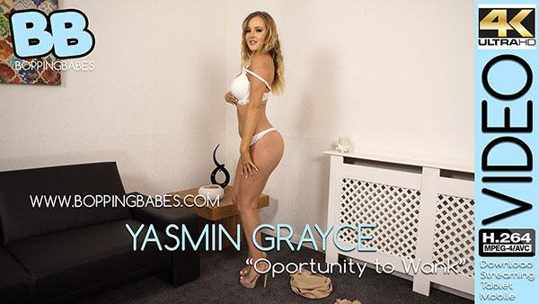 """Yasmin Grayce """"Opportunity to Wank"""""""