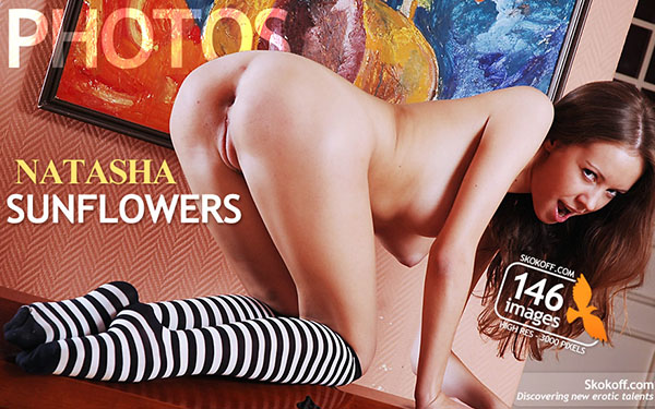 """Natasha """"Sunflowers"""""""