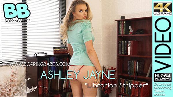 """Ashley Jayne """"Librarian Stripper"""""""