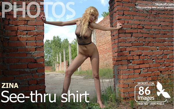 "Zina ""See Thru Shirt"""