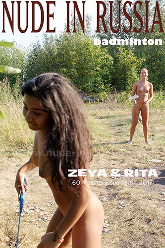 "Margarita S & Zeya ""Badminton"""