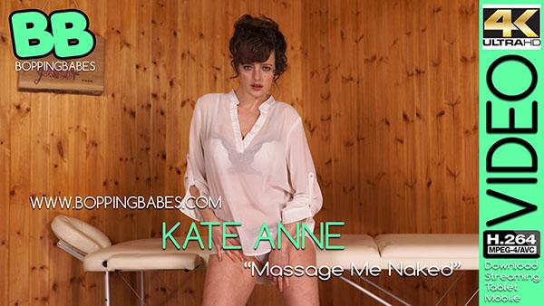 "Kate Anne ""Massage Me Naked"""