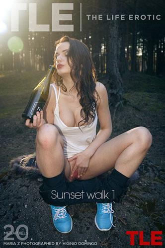 "Maria Z ""Sunset Walk 1"""