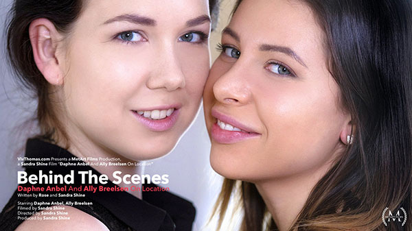 "Ally Breelsen & Daphne Anbel ""BTS: On Location"""