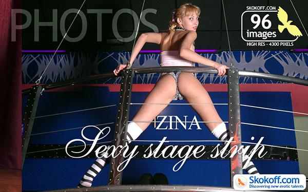 """Zina """"Sexy Stage Strip"""""""