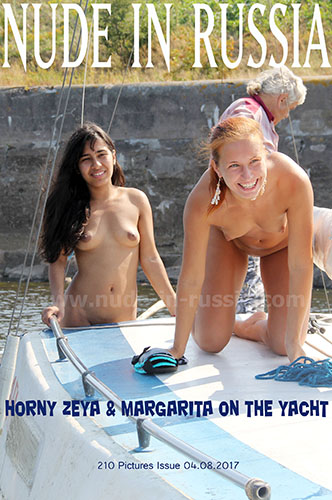 "Margarita S & Zeya ""Horny On The Yacht"""