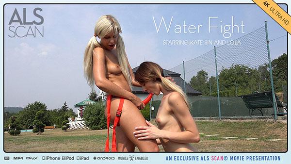 "Kate Sin & Lola ""Water Fight"""