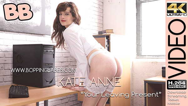 "Kate Anne ""Your Leaving Present"""
