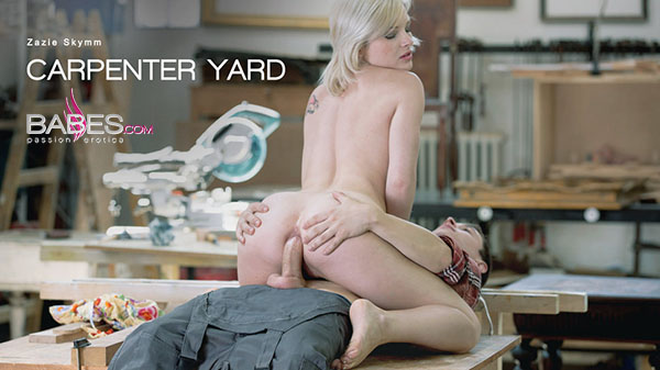 "Zazie Skymm ""Carpenter Yard"""