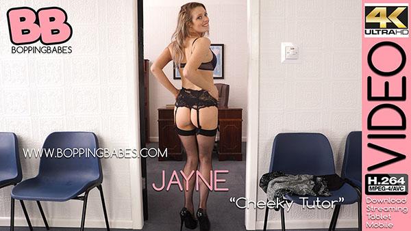 "Jayne ""Cheeky Tutor"""