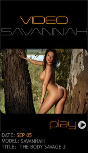 """Savannah """"The Body Savage 3"""" - Girlsdelta"""
