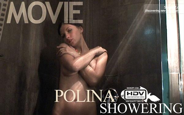 "Polina ""Showering"""