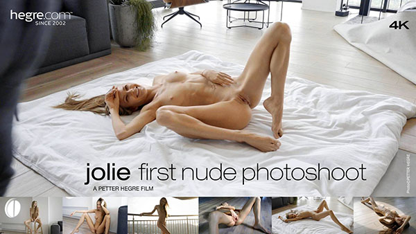 "Jolie ""First Nude Photo Shoot"""