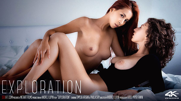 "Emylia Argan & Paula Shy ""Exploration"" - Girlsdelta"
