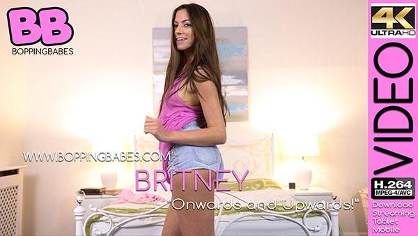 """Britney """"Onwards and Upwards"""""""