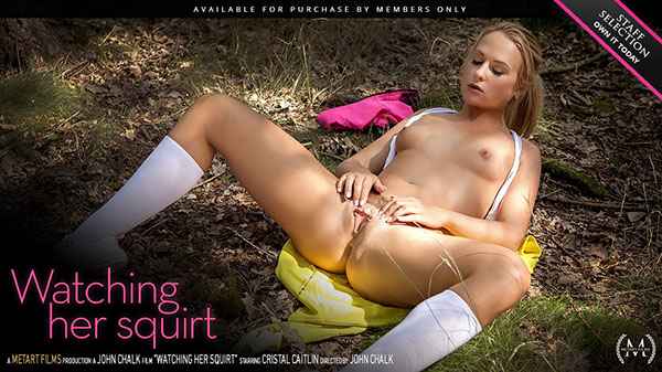 """Cristal Caitlin """"Watching Her Squirt"""""""