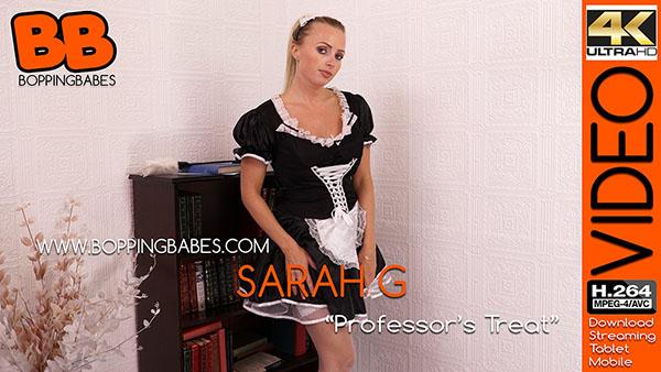 "Sarah G ""Professor's Treat"""