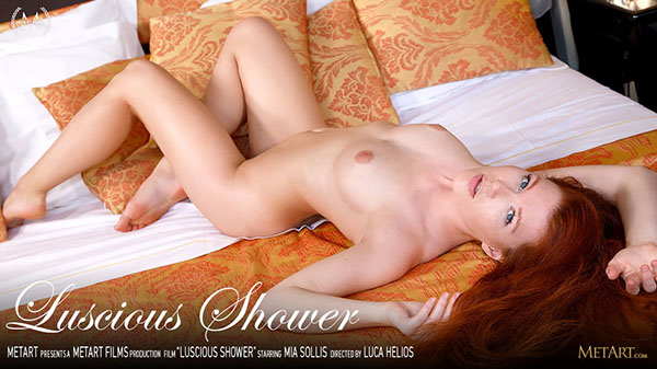 "Mia Sollis ""Luscious Shower"""