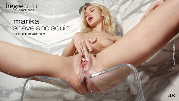 "Marika ""Shave and Squirt"""