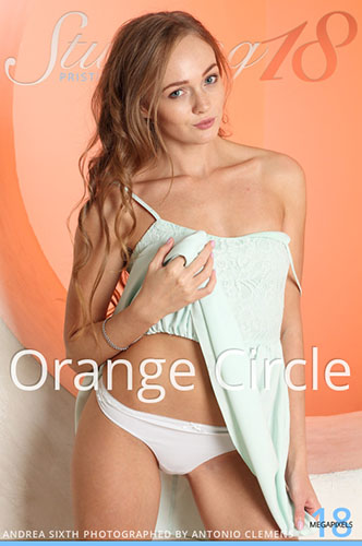 "Andrea Sixth ""Orange Circle"""