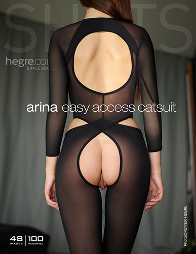 """Arina """"Easy Access Catsuit"""""""