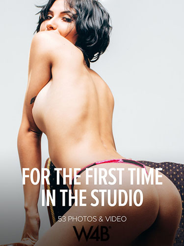 "Natali Leon ""For The First Time In The Studio"""
