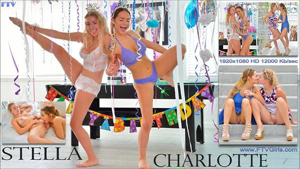 "Stella & Charlotte ""Best Friends Now Lovers"""