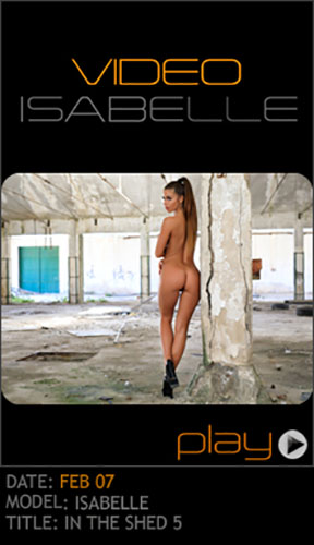 """Isabelle """"In The Shed 5"""""""