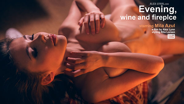 "Mila Azul ""Evening, Wine And Fireplace"""