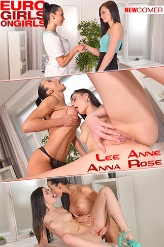 "Lee Anne & Anna Rose ""Nailed by the Nurse"""