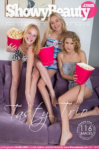 """Alisha & Lagoda & Runa """"Tasty Trio"""""""