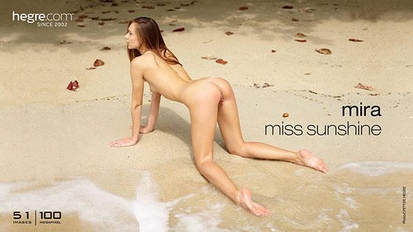 "Mira ""Miss Sunshine"""