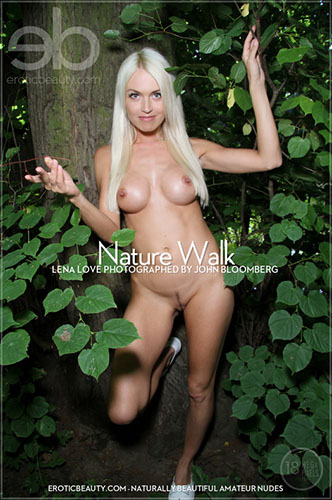 "Lena Love ""Nature Walk"""