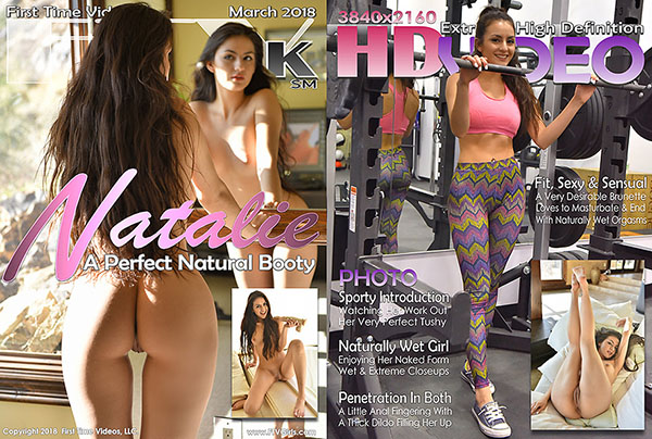 """Natalie """"A Perfect Natural Booty"""""""