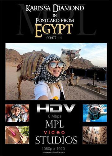 "Karissa Diamond ""Postcard from Egypt"""