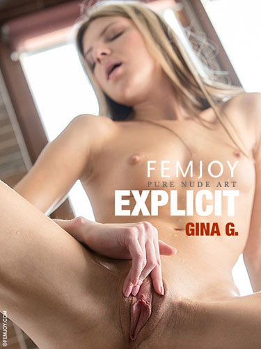 "Gina Gerson ""Explicit"" by Dave Menich"