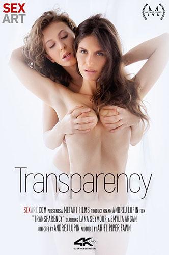 "Emylia Argan & Lana Seymour ""Transparency"""