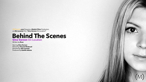 "Gina Gerson ""BTS: On Location"""
