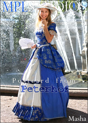 "Masha ""Postcard from Peterhof"""